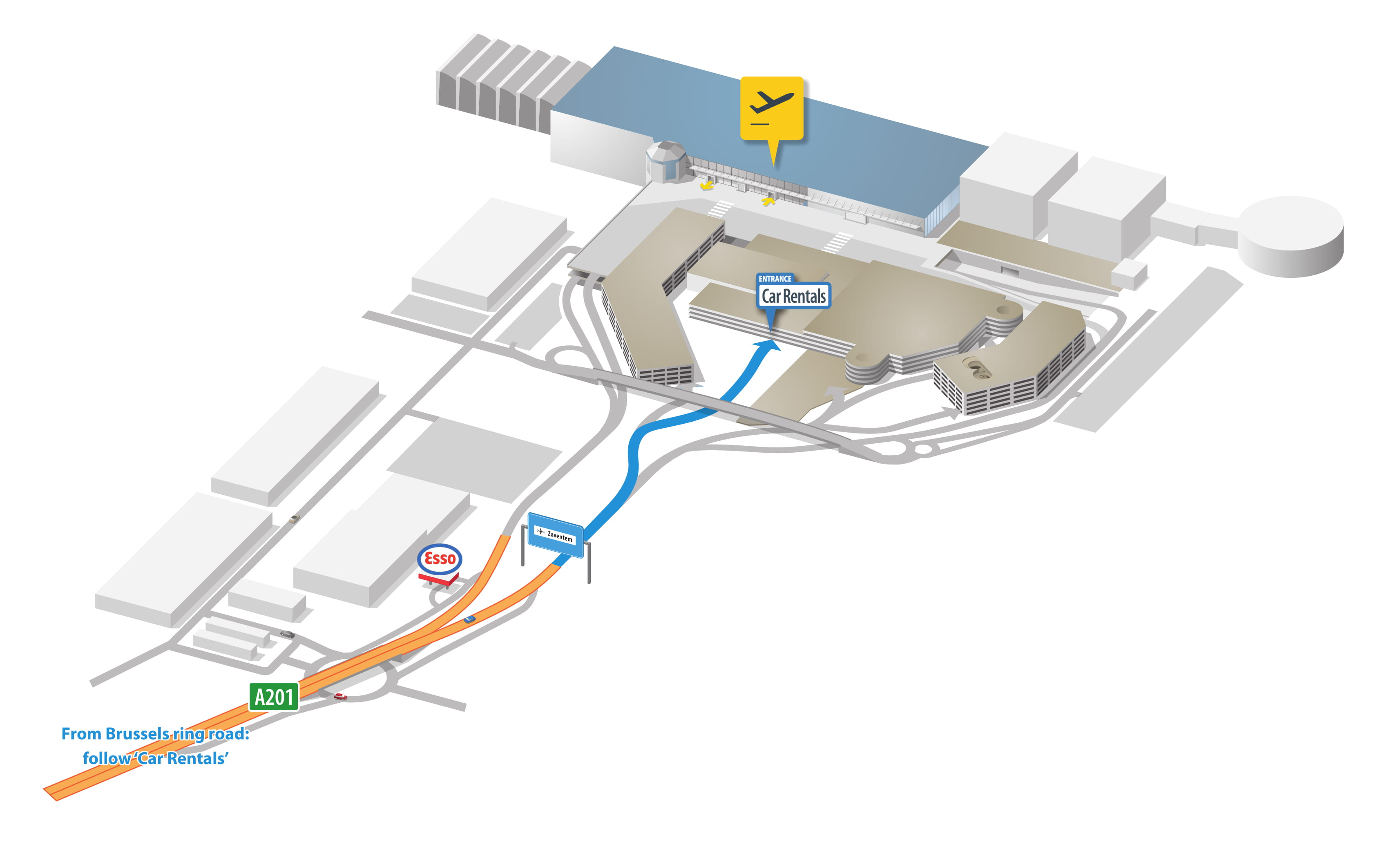 Rent A Car Brussels Airport