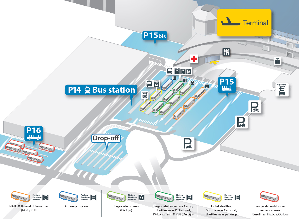Public bustransport | Brussels Airport